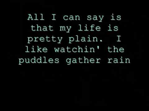 Blind Melon - No Rain - Lyrics