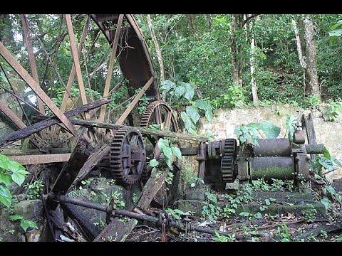 Urban Exploration - Abandoned Sugar & Copra Factory - XVI Century - Dominica - Caribbean.