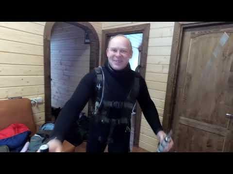 Десногорск январь 2019  Отдых База Береста  Подводная охота