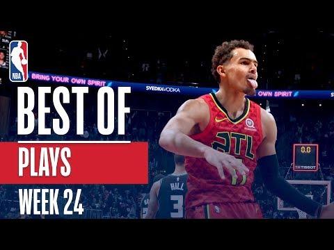 NBA's Best Plays | Week 24