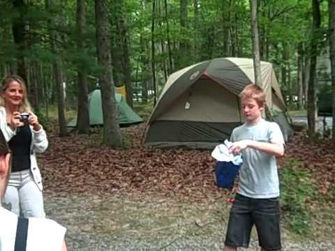 Rice Family Camping Trip Pipestem WV 2010