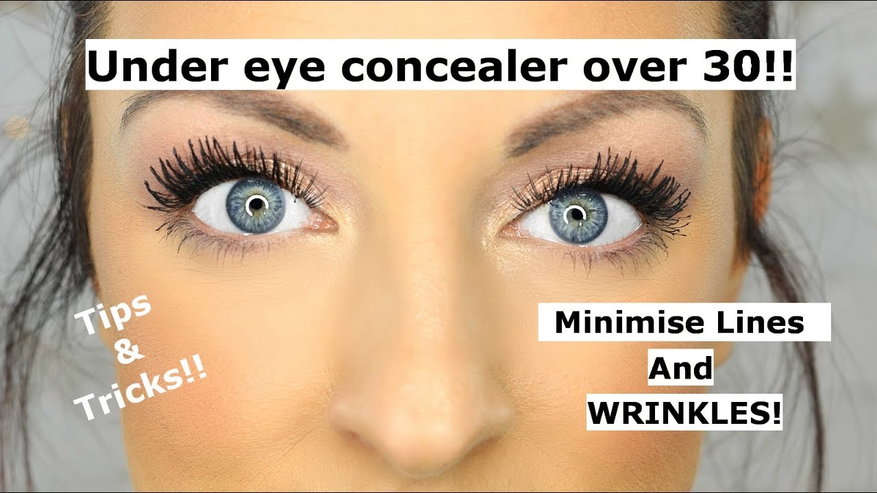 Under eye concealer tips and tricks OVER 9!!
