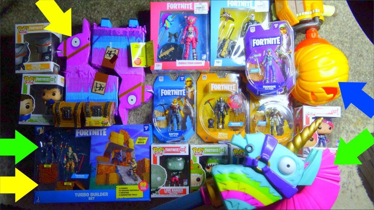 Fortnite Action Figures Mcfarlane Toys And Jazwares Fortnite Toys