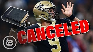 Drew Brees Canceled For Telling Kids To Bring Bibles to School I Dear America
