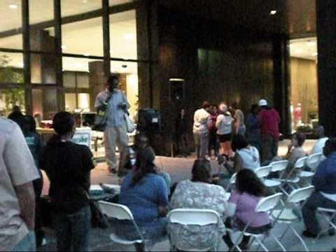 "Karaoke Clip from ""Spotlight on Second"" Stage - Urban Nights - Sept 10, 2010"