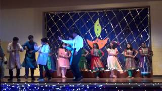 SW Diwali 2012 - Hindi Song - Couple Dance