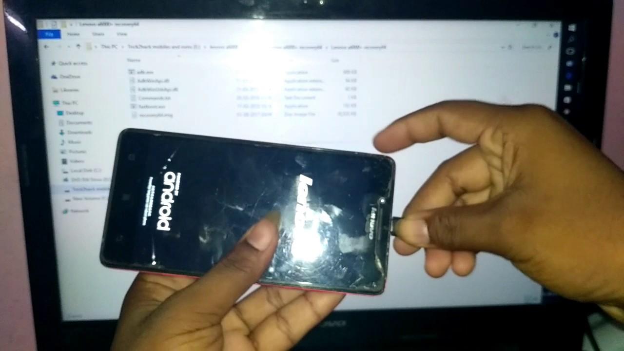 Mobile Info: Lenovo A6000 Reset