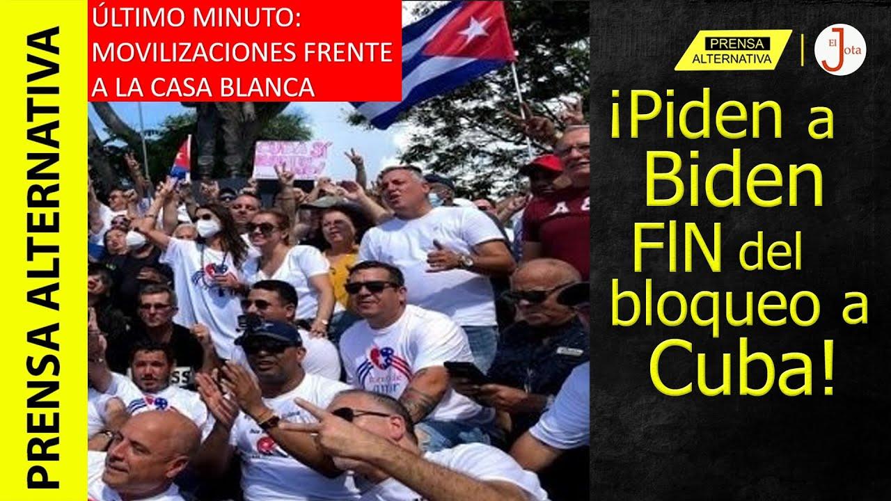 Desde Washington: Multitudinaria marcha que exige fin de sanciones a Cuba