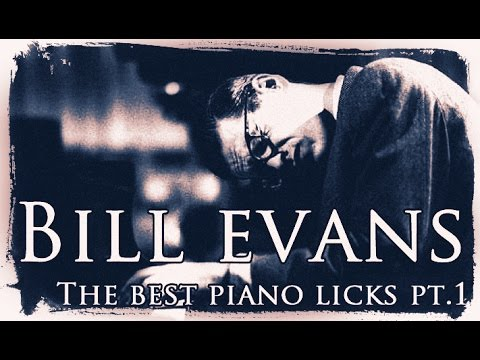 Jazz Piano Lessons -The best Bill Evans piano licks on piano (pt.1)