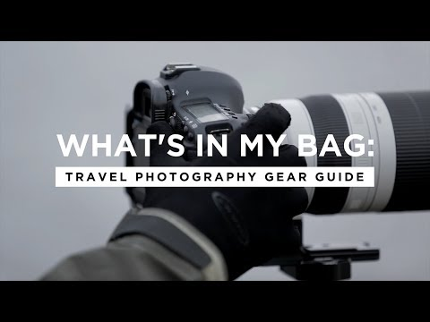What's In My Camera Bag: Travel Photography Gear Guide (2018)| CreativeLive