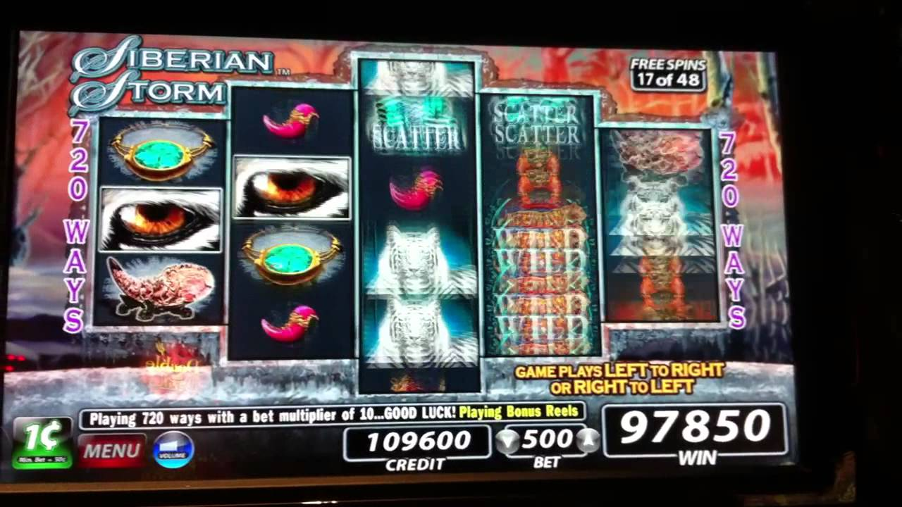 Free Slot Machine Siberian Storm
