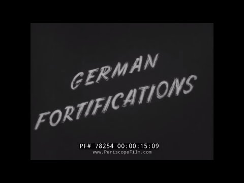 NAZI ARTILLERY GERMAN FORTIFICATIONS IN OCCUPIED EUROPE 78254
