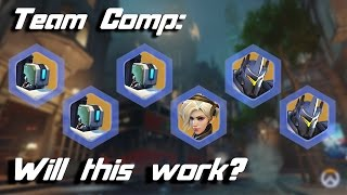 Team Composition, Will this work? (3 Bastions, 2 Reinhardts, 1 Mercy) | Overwatch