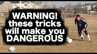 My Top 5 Soccer Moves ► Useful Soccer Tricks and Soccer Skills