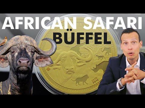 5 Unzen Gold - African Safari Büffel - Nur 50 Stück weltweit