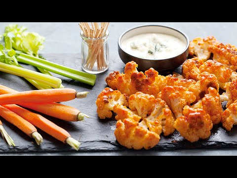 How to Make Buffalo Cauliflower Bites