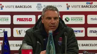Conferência de imprensa pós jogo Gil Vicente -Académico Viseu
