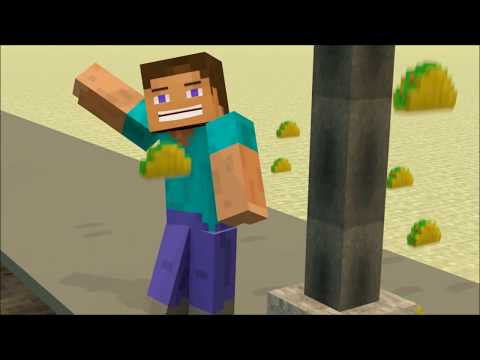 Its Raining Tacos Minecraft Animation