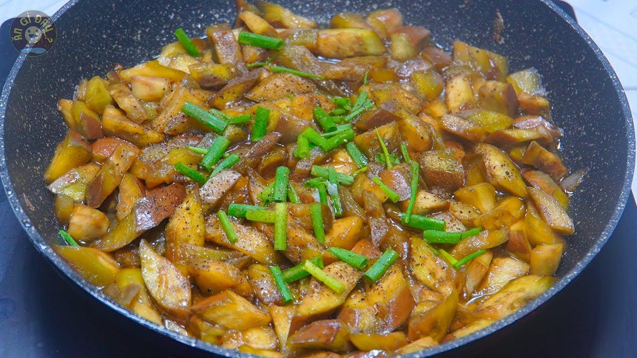 Cách Làm Cà Tím Kho Tiêu Món Ăn Dân Dã Đơn Giản Mà Ngon | Món Chay Ngon | Ăn Gì Đây