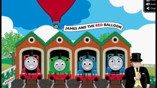 Opening Thomas Friends James Red Balloon Dvd