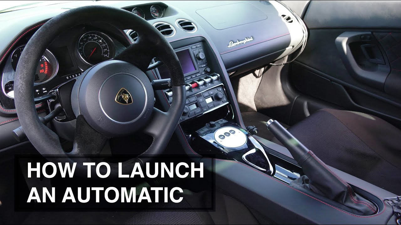 How To Launch An Automatic Transmission Car Torque Multiplication You