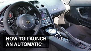 how to launch an automatic transmission car torque multiplication