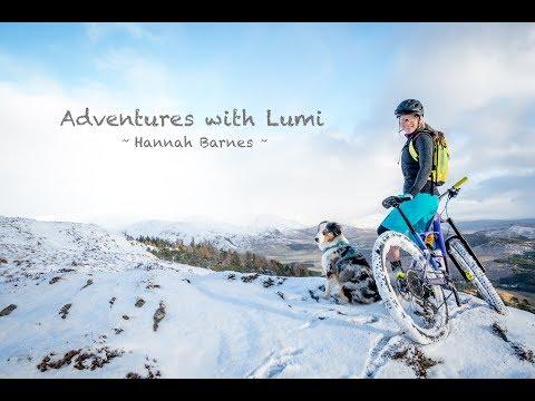 Hannah Barnes' adventures with Lumi the trail dog - MBR
