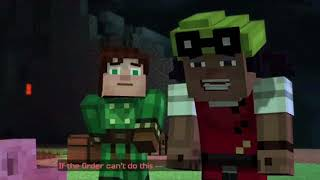 PETRA REMEMBERS MORE STUFF AND A PUN?!| Minecraft Story Mode: Alternate Paths| Ep. 4 Pt. 5