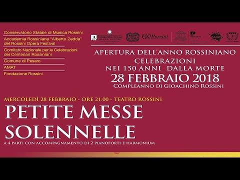 Petite Messe Solennelle a Pesaro _ 28 febbraio 2018