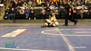Cameron Sykora vs Mitchell McKee, MSHSL Class A 106 pound championship / March 3rd, 2012