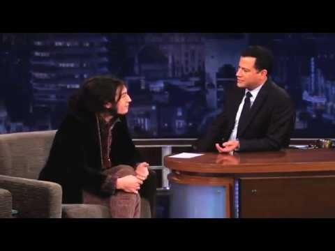 Ezra Miller Interview with Jimmy Kimmel pt. 1