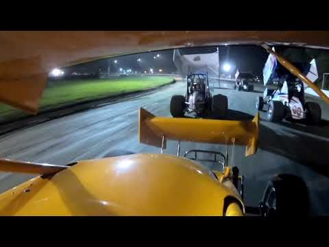 Fonda Speedway - May 25, 2018 - Go Pro -  Front Downtube - A-Main