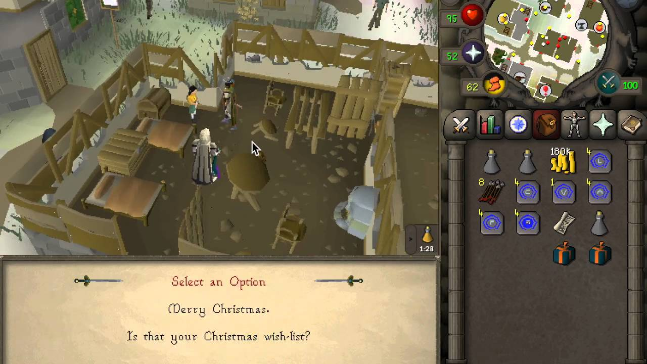 OSRS GUIDE] Old School Runescape 2015 Christmas Event - YouTube
