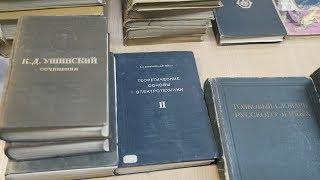 Десна-ТВ: «Немые свидетели прошедших лет»: уникальные книги десногорской библиотеки