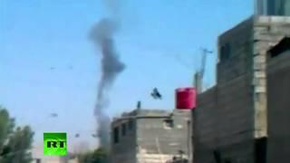Падение вертолета в Сирии