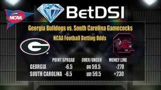 Georgia Bulldogs vs South Carolina Gamecocks Odds | College Football Picks