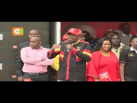 President Kenyatta warns over violent demos