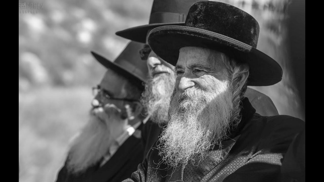 הרב אלעזר מרדכי קעניג זצוק''ל בחנוכת בית ספר 'בית יעקב' בצפת