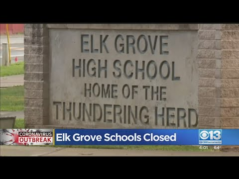 Elk Grove Schools Closed