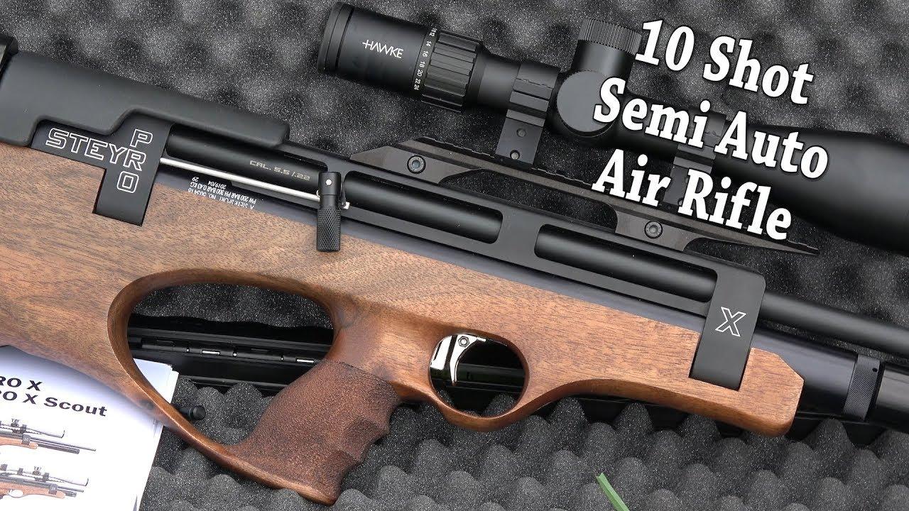 REVIEW: Steyr Pro X Scout Airgun - Semi Auto + My 11 Month Secret