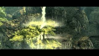 Демонстрация локаций Morrowind'а в Skywind