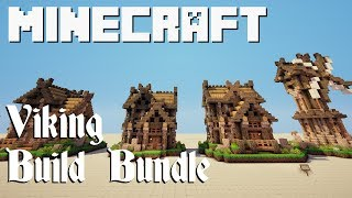 Minecraft Build Bundle: Viking Town