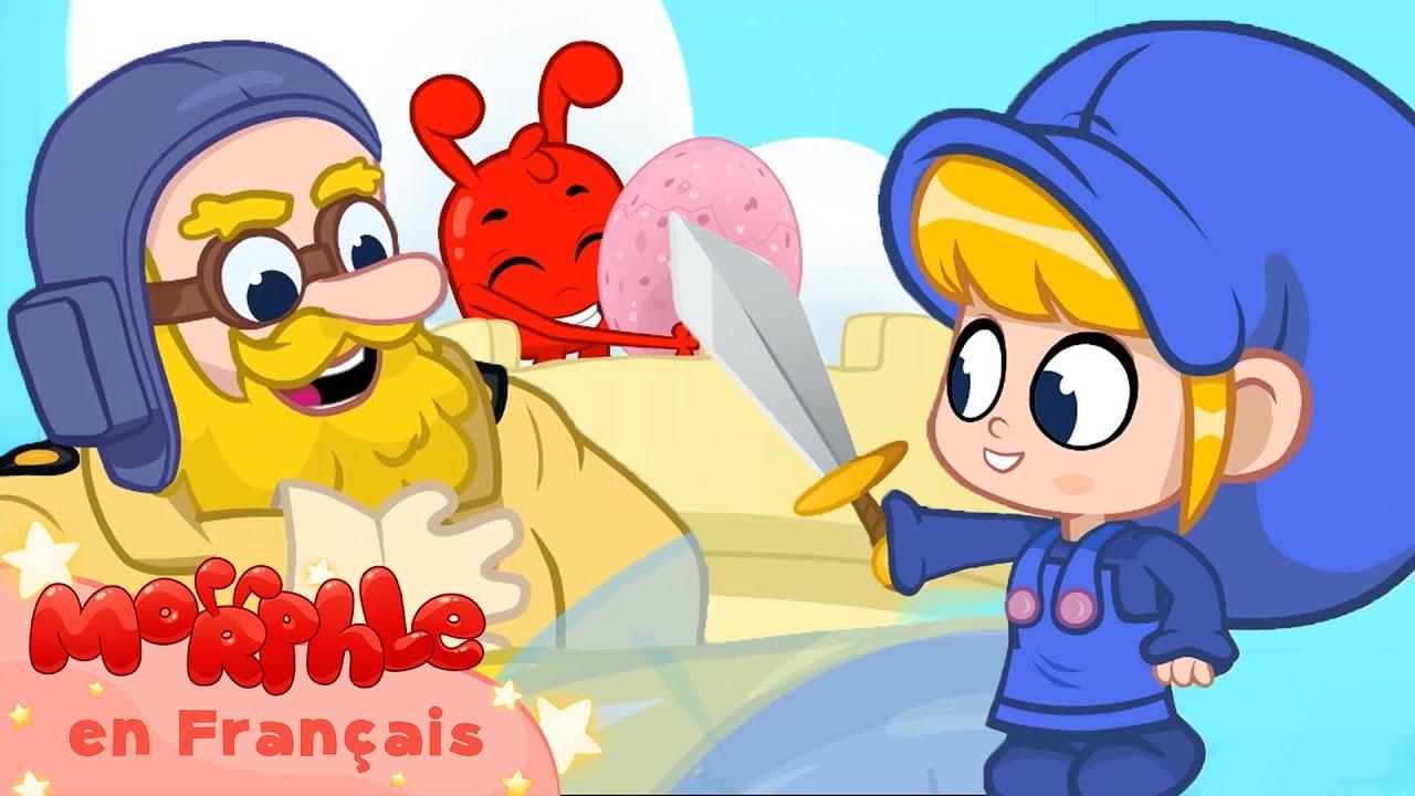 Morphle en Français | Morphle Dragon et oeuf d'autruche | Morphle TV | Dessins Animés Pour Enfants