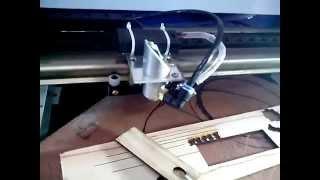 видео лазерный станок