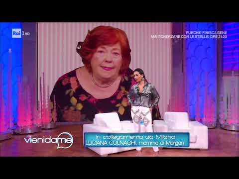 Intervista alla madre di Morgan Luciana Colnaghi - Vieni da me 11/02/2020