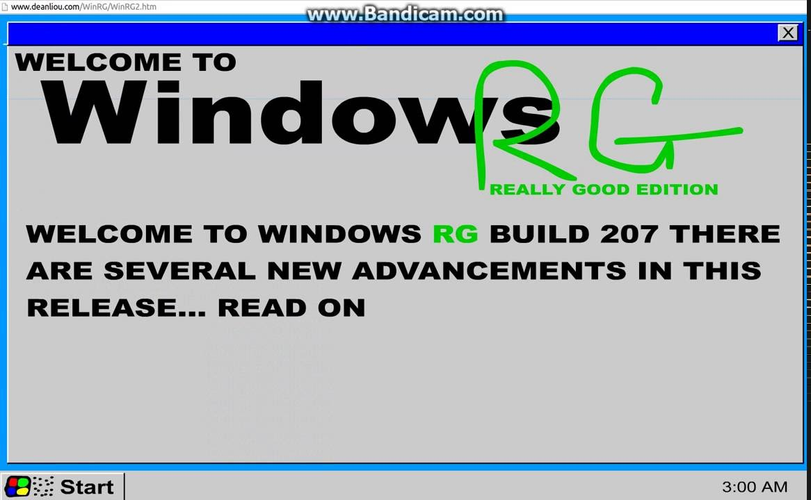 Windows rg edition - Windows Really Good Edition