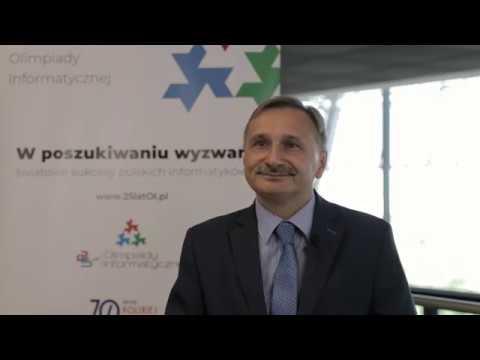 25lat Olimpiady Informatycznej - Maciej Kopeć, podsekretarz stanu w Ministerstwie Edukacji Narodowej