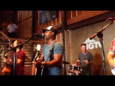 Only Wanna Be With You - Darius Rucker - HGTV Lodge - Nashville, TN 6/13/15