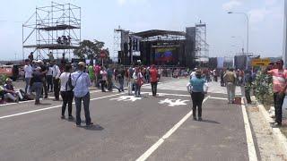 Maduro's anti-Venezuela Aid Live concert gets little support in Tachira