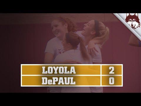 Loyola vs. DePaul | Women's Soccer Highlights